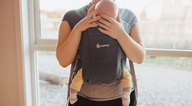 Når babyen gråter i bæretøyet