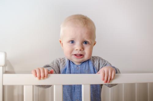 Nattskrekk og langvarig oppvåkning på natt hos 1 1/2-åring